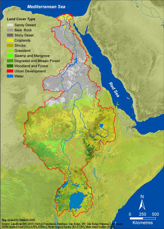 bible map nile river